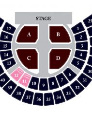 EXO concert seating chart