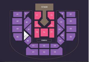 Taeyeon Persona seating chart