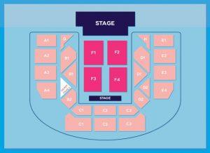 Red Velvet Seating chart