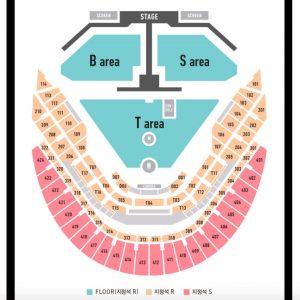 BTS Seating chart